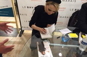 """SAMEDI 12 MARS 2016 - Dédicace """"Ma vie est une pomme"""" au BHVMarais (Paris)"""