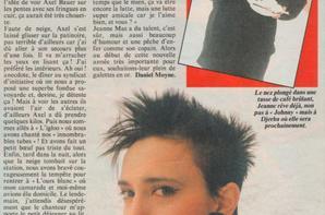 "[Article de presse - 1985] -  ""JEANNE MAS - Axel Bauer, week-end à la neige"" Reportage"