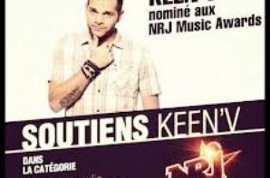 voté keen'v au NMA #KF #NMA2013  #NRJ <3