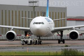 le 1er airbus a330-200 au couleur de corsair international