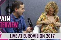 "-- "" Manel Navarro "" -- Eurovision "" Année 2 017 "" --"