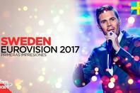 """-- """" Robin Bengtsson """" -- -- Eurovision """" Année 2 017 """" --"""