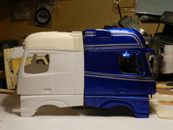 Toit complet Mercedes Actros MP4 BigSpace