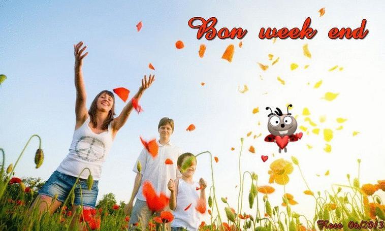 Bon week-end, l'Eté est là § Bon dimanche - Amitiés à tous et toutes.