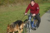 Iron a réussi son Brevet d'Endurance (20 Km en vélo) à l'exposition du Lac de Laives  71