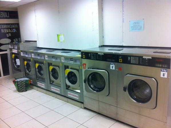 nouvelles machines super essorage à Morlaix