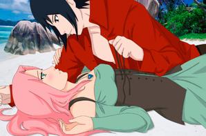 Nalu and Sasusaku <3