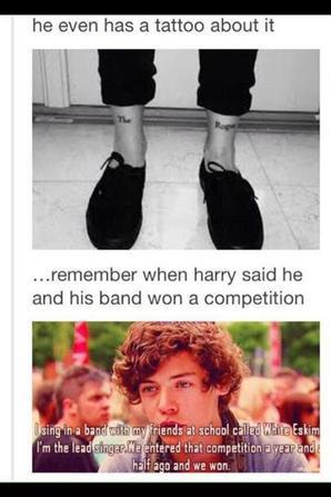 Nouvelle preuve que Harry et Louis se connaissaient avnt X-factor !