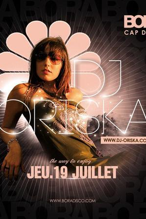 Jeudi 19 juillet 2012 Retrouvez moi au BORA - Cap D'agde A JEUDI LES AMIS !!! Kiss ♥ Oriska