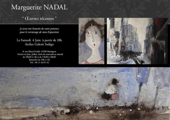 INVITATION exposition de mes oeuvres récentes 2016