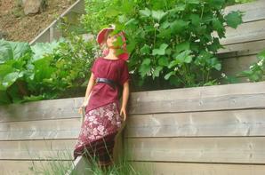 au jardin..