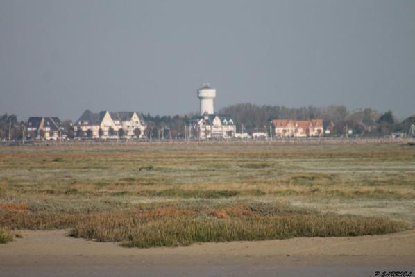 Le Crotoy vue de Saint-Valéry-sur-somme