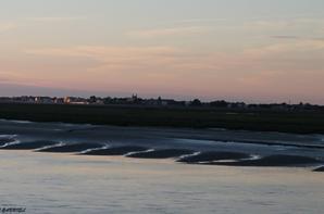 Coucher du soleil sur Saint-Valery-sur-Somme