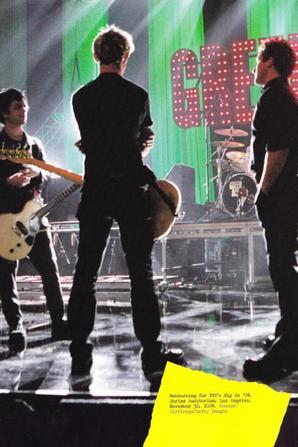 Green day plus qu'un groupe de musique c'est un mode de vie!!