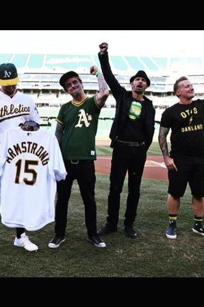 Match de Baseball Oakland