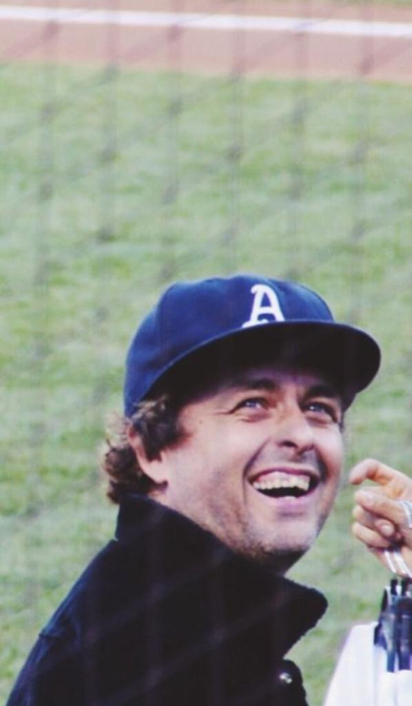 Billie Joe au match de Baseball  a Oakland