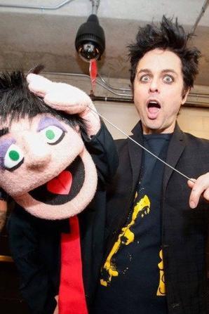 Green day et leur muppets hahaha trop drôle !!!!