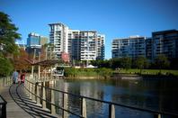Roma Street Parkland, Brisbane, Australia