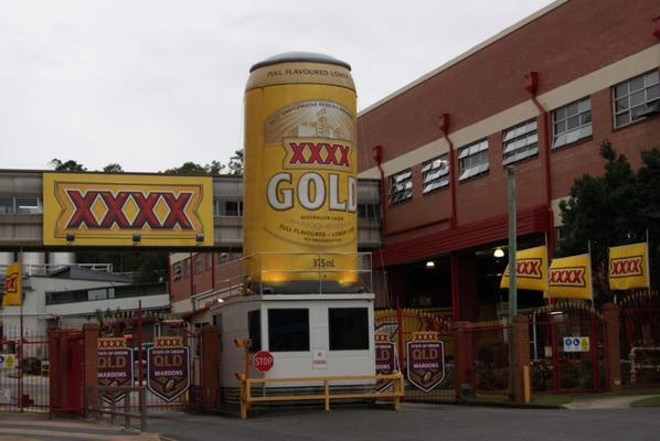XXXX Brewery in Brisbane