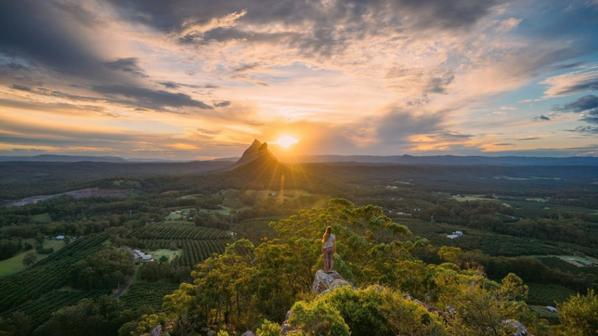 Glass House Mountains National Park Queensland, Australia