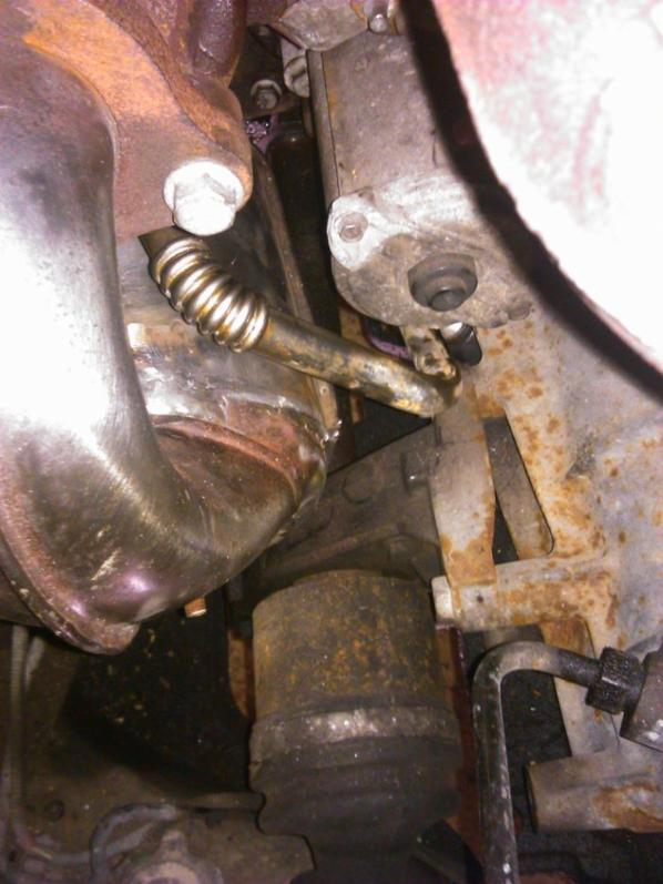 remontage du turbo et du decatalysed