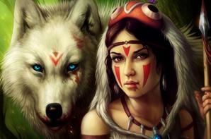 ma passion ses les indiens et les loups <3 <3
