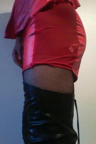 ce matin en rouge et noir