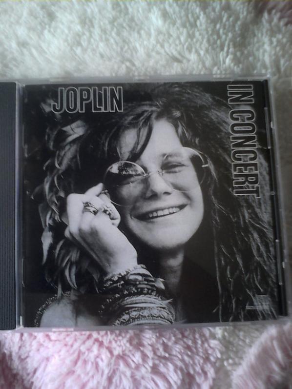 mon cd de Janis Joplin (une amie de John Lennon)