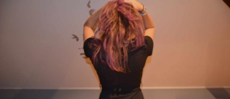Gosh, I've a Pink Hair *_*.