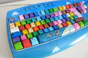 Création ... clavier coloré