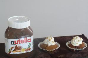 Recette des Muffin au Nutella