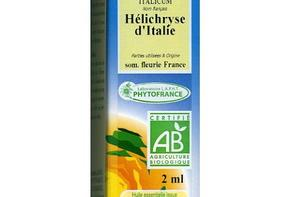 Huile essentielle d'hélichryse Italienne (ou immortelle)