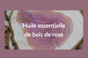 Huile essentielle de bois de rose