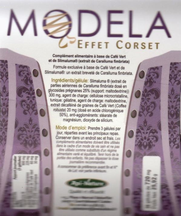 MINCEUR MON BIO MOULIN À DUNKERQUE - MODELA EFFET CORSET (36 GÉLULES DE 320 MG)