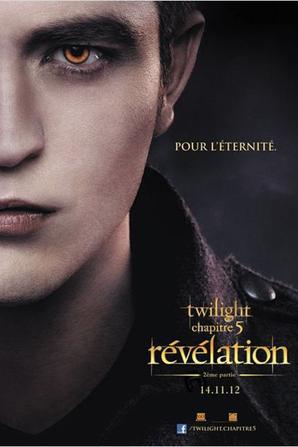twiligth 4 affiche officiel de la 2ieme parti qui sortt le 16novembre 2012 =)