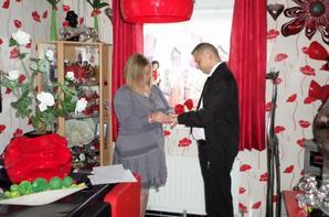 Nos fiançailles du 25.10.2014