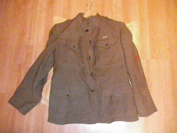 veste us ww1 6th d'infanterie