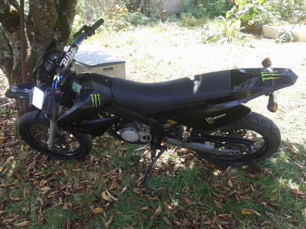 Ma moto + mon casque