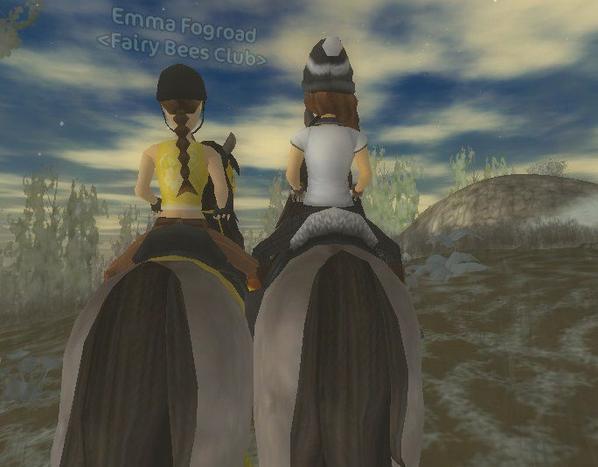 Course avec Emma <3