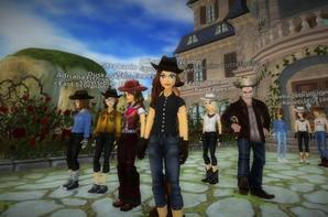Tournage de l'épisode 1 de la série d'Audrey Westone