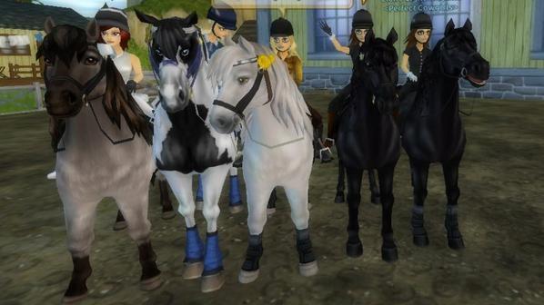 Super soiré avec les Cowgirls ♥♥