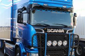 New STH Scania R580. Blue Stream. MIN de Chateaurenard. Juillet 2016.