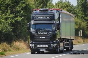 Les Scania V8 à travers les routes de France et les autres.
