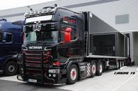 Transport Naulet. Orléans 2016. Scania R730 BRM.