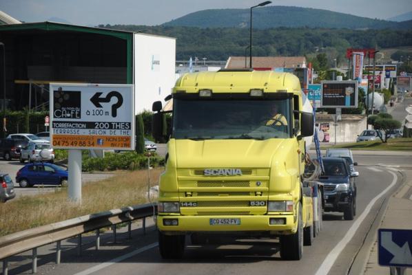 Transport et travaux publics Joel et Mickael Audigier. Montélimar.