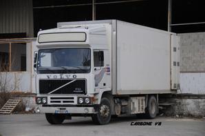 Un rare Volvo Eurotrotter. Ex Transport Michel Comte.