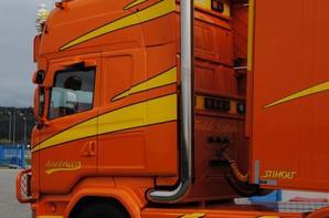 Scania R580. Aurénico. Portes les Valences. Mars 2017. Photo dédié à toi l'ami d'Alphaform.