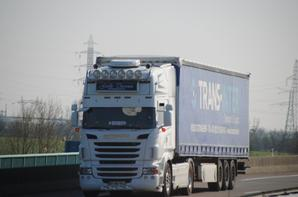 Les Scania à travers nos routes.