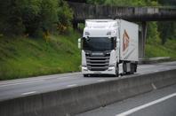 Brochette de nouveau Scania.