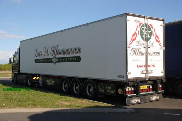 Transport Lars Klemmensen. Rocade de Moulins. Avril 2017.